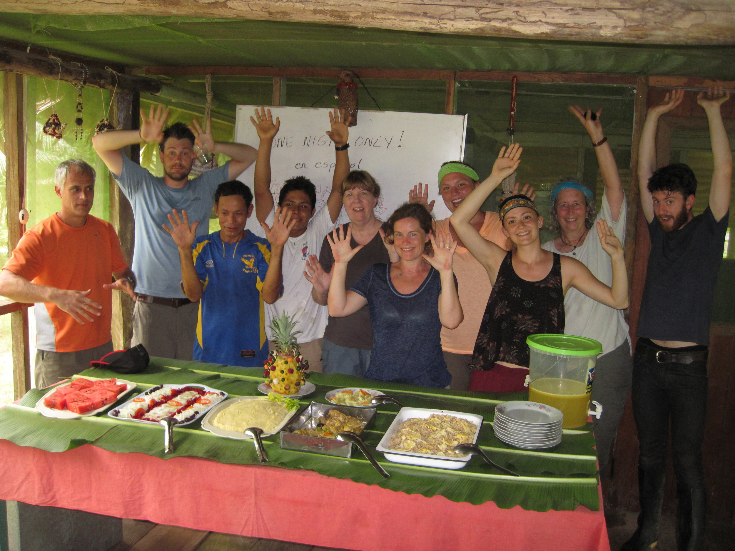 WKU mealtime-arms up.JPG