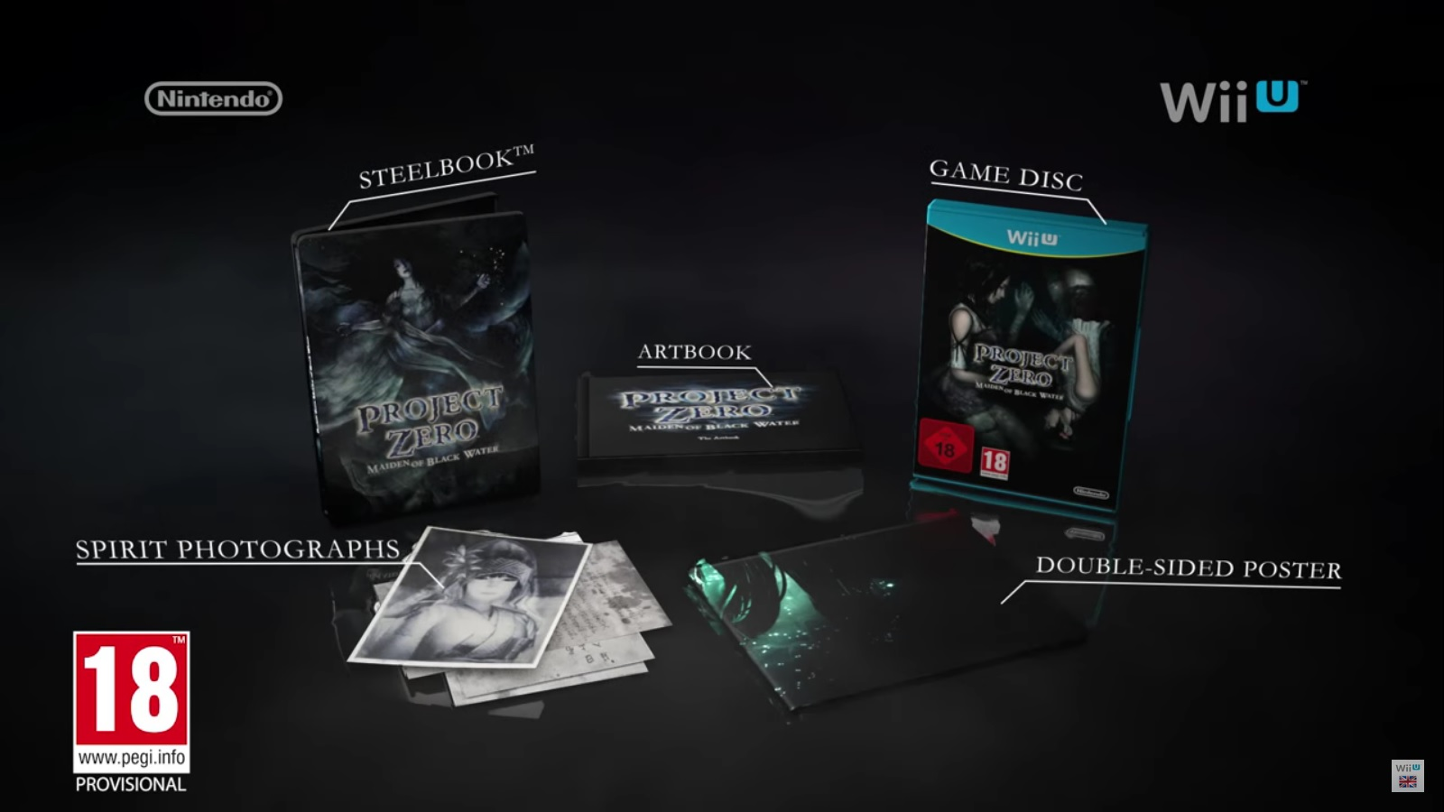 Fatal Frame: Maiden of Black Water Limited Edition (Japan / Europe only)