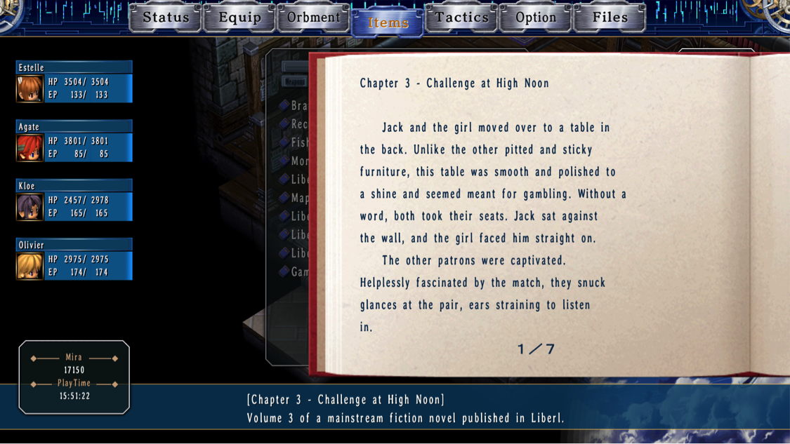 XSEED Games sets the bar high with Trails in the Sky SC for future localization efforts.