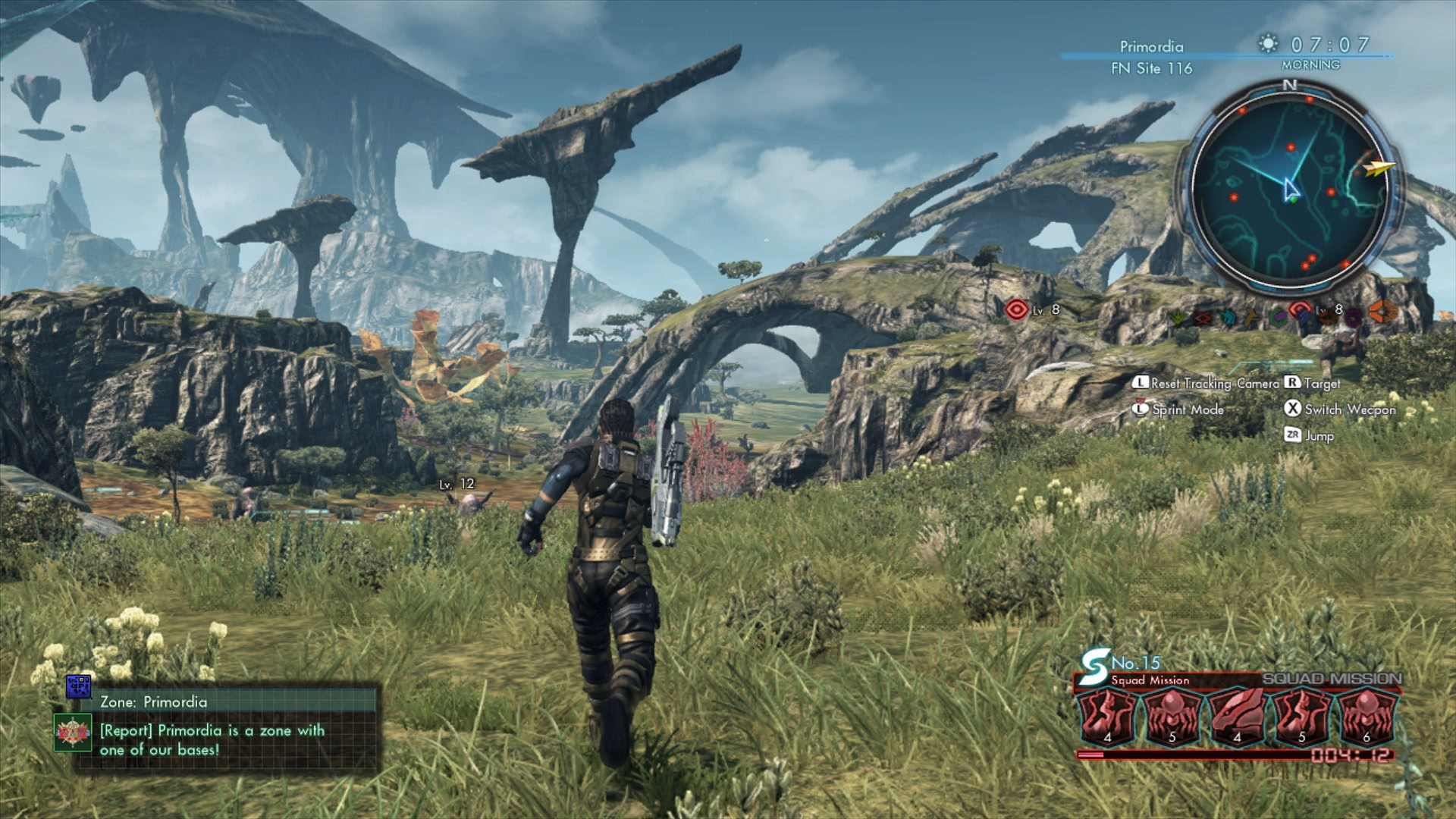 The Landscapes in Xenoblade Chronicles X are breathtaking.