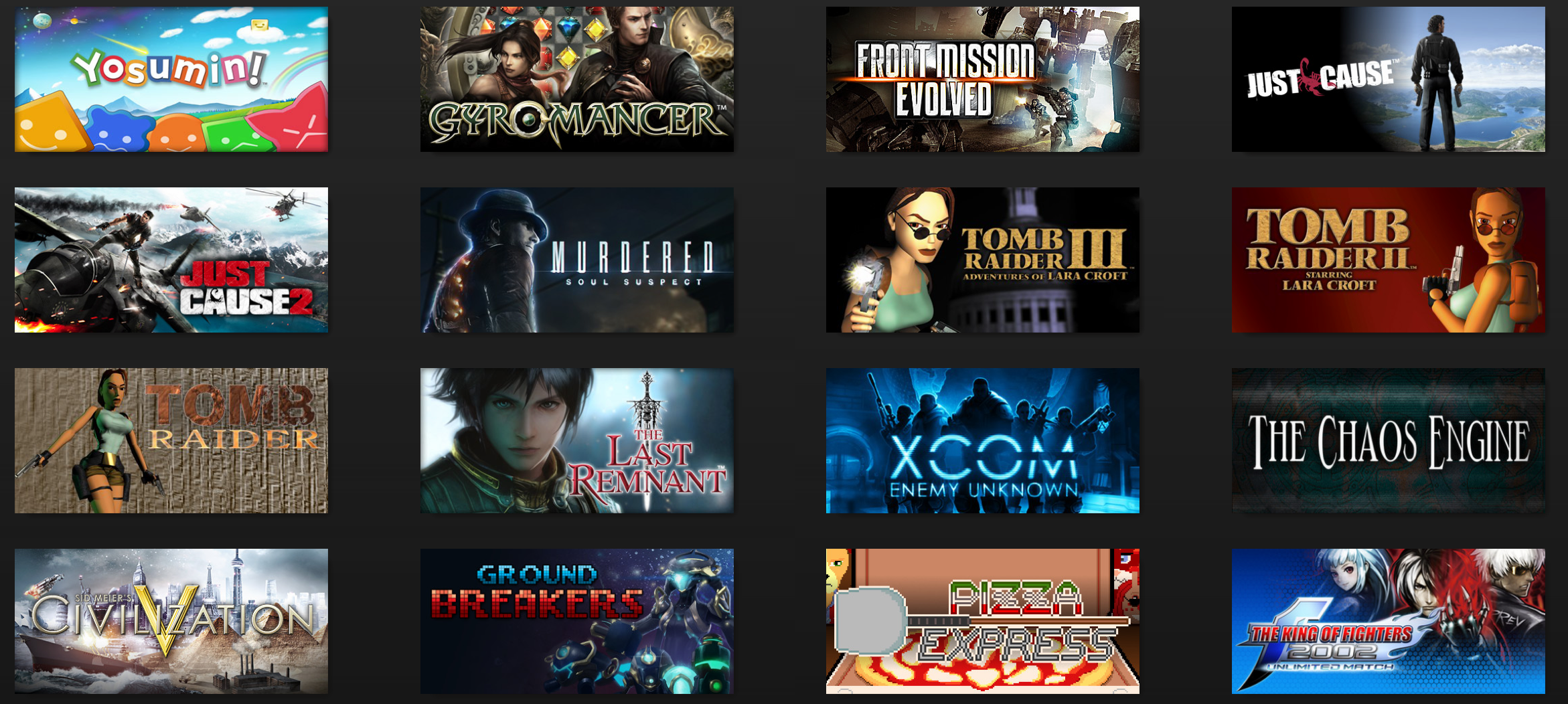 Your one stop shop for Tomb Raider.