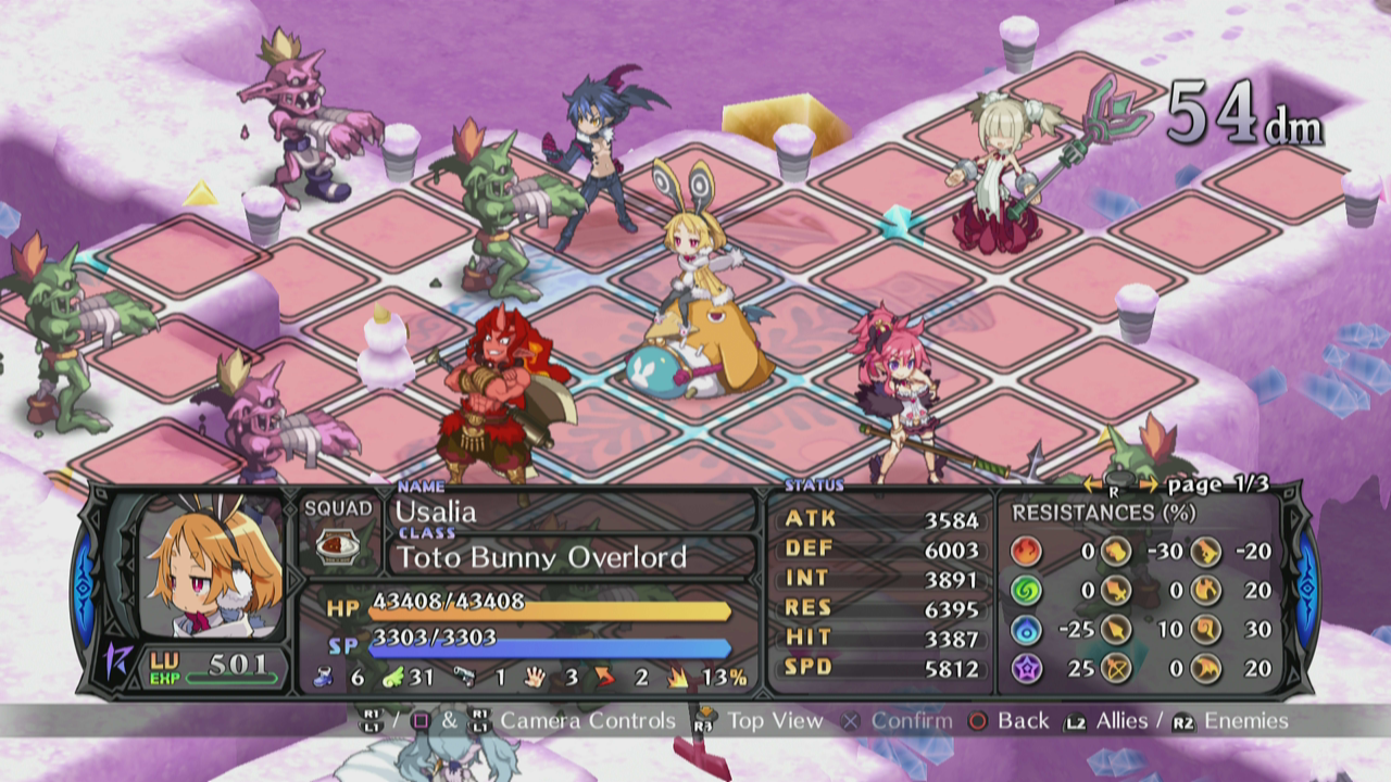 Gameplay Mechanics are solid in Disgaea 5.