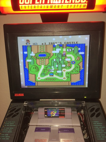 The kiosk that changed my life. Kinda. Image Courtesy of lojack44 of NintendoAge.com