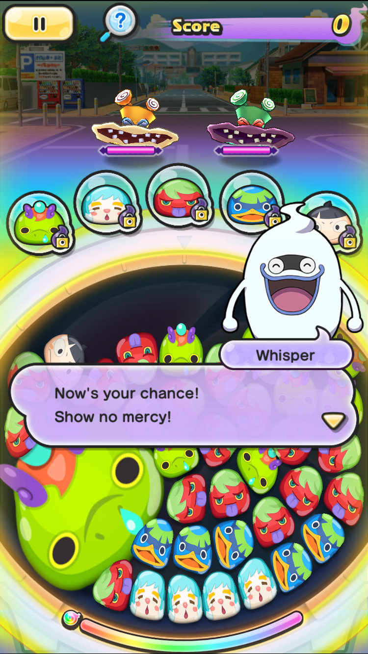 Whisper is there to help you out along the way.