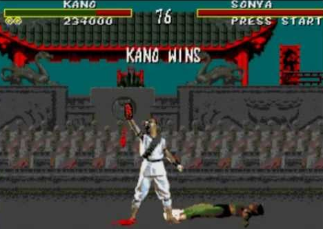 Sega was so violent! Look at those red pixels!!!