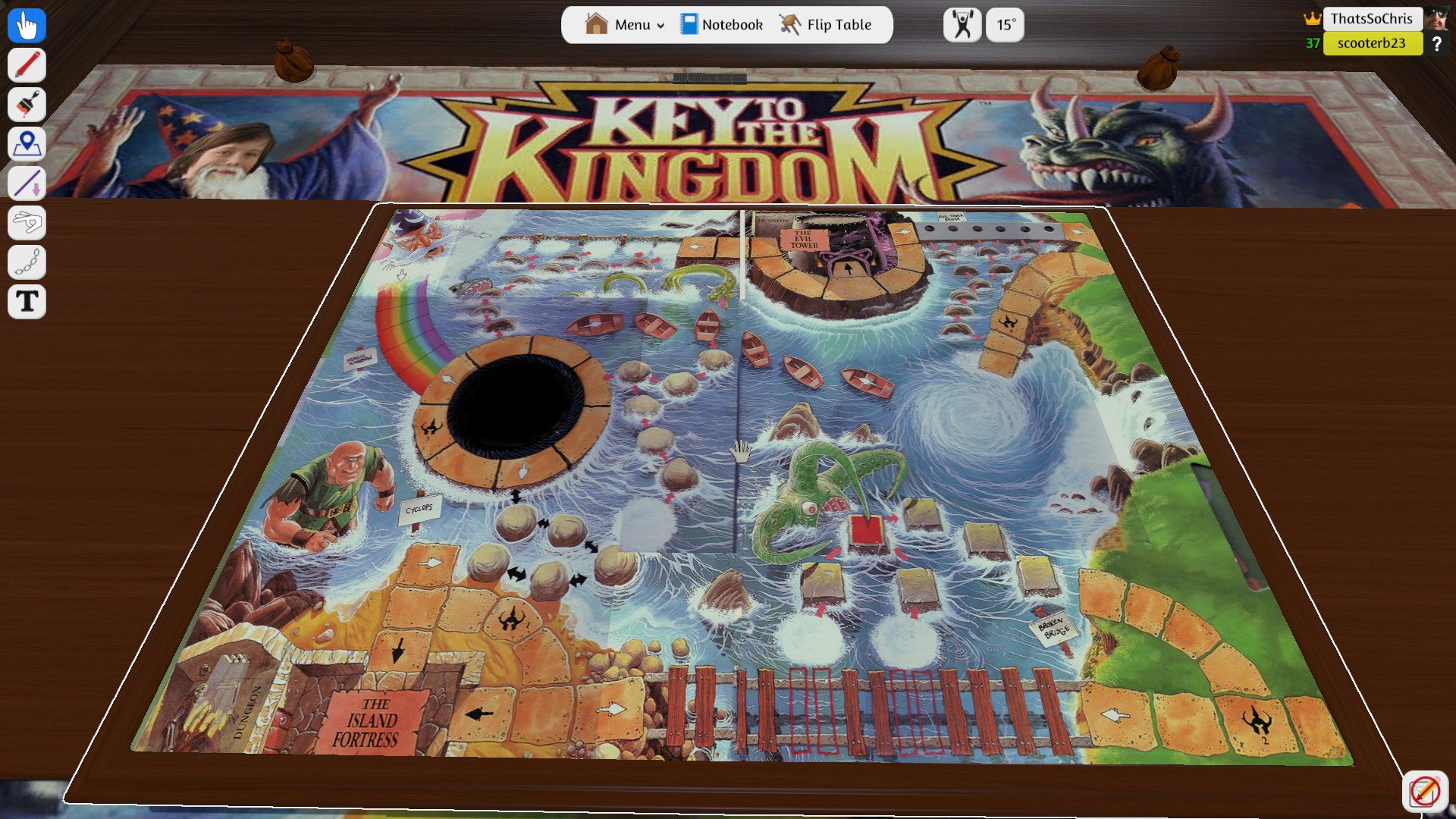 Key to the Kingdom! I haven't seen this game in decades!