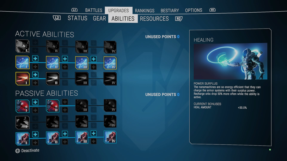 An ability upgrade system is a welcomed addition among the latest twin-stick shooter from Housemarque.