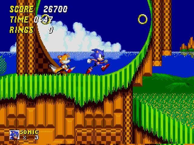 Sonic and Tails were built for speed!