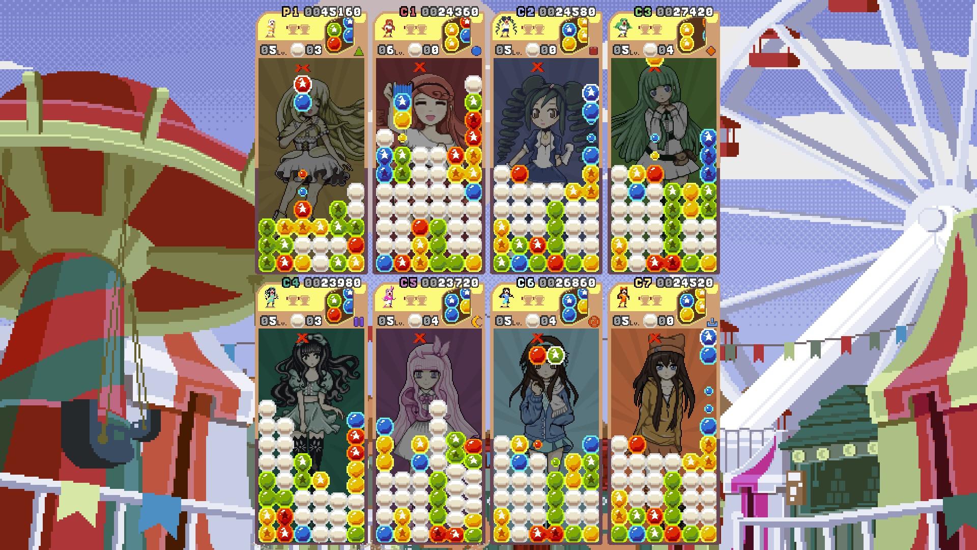 8 Player Arcade mode