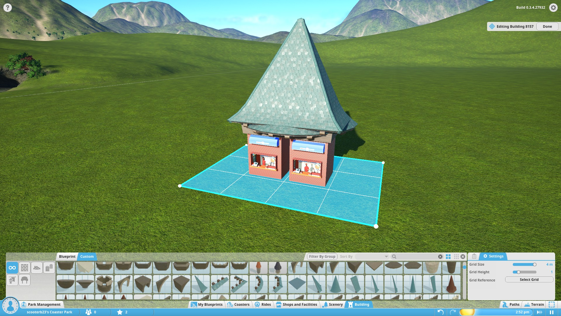 Behold! The Burger Castle!