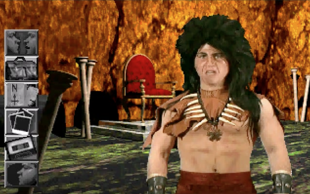 Jason Hervey as the Troll King.