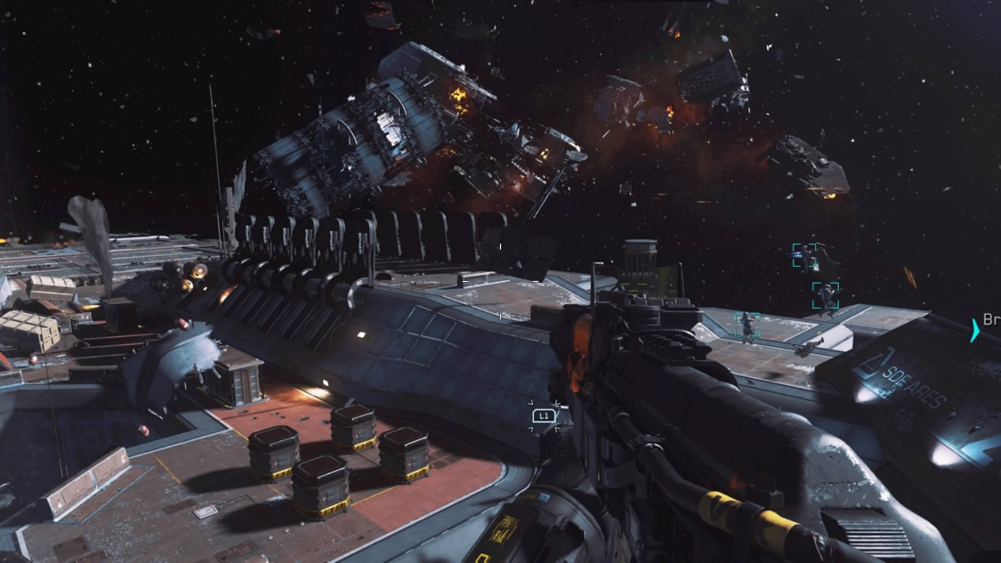 This year's installment in the Call of Duty franchise takes us to space & beyond.