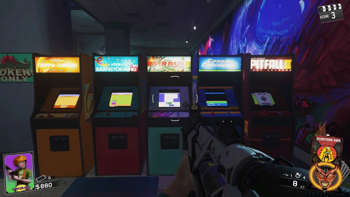 "A wealth of classic Activision arcade nostalgia lies within the ""Zombies in Spaceland"" map!"