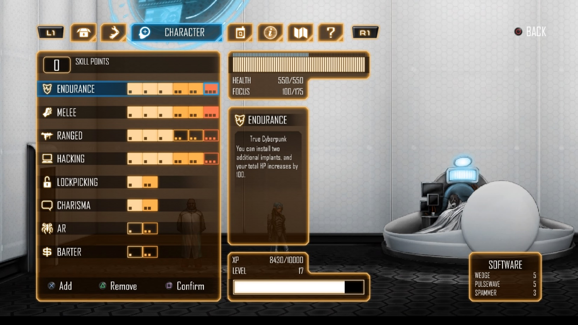 Skill Tree System works beautifully for customizing character stats