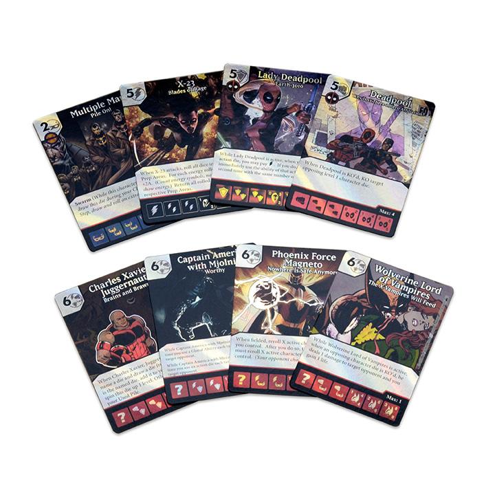 Deadpool Dice Masters Foil Cards