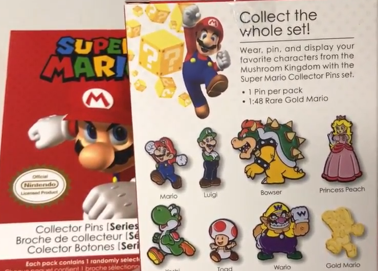 The odds of Gold Mario are 1:48.