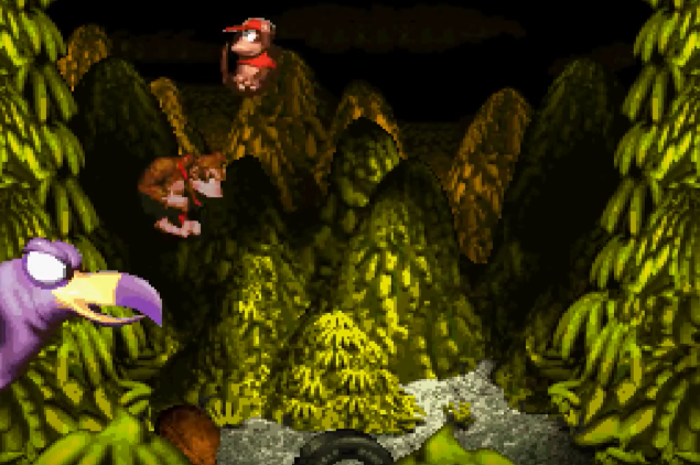 Bosses were massive, and incredibly detailed for the time of release.