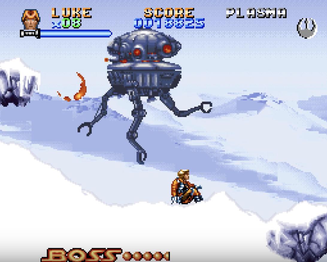 That's a big droid! (Super Empire Strikes Back)