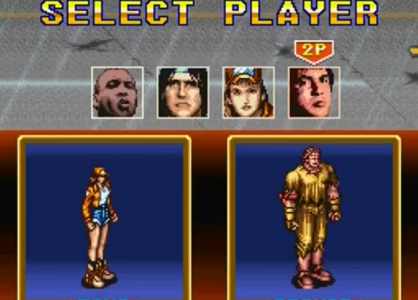 Choose your player. You can switch after certain rounds end.