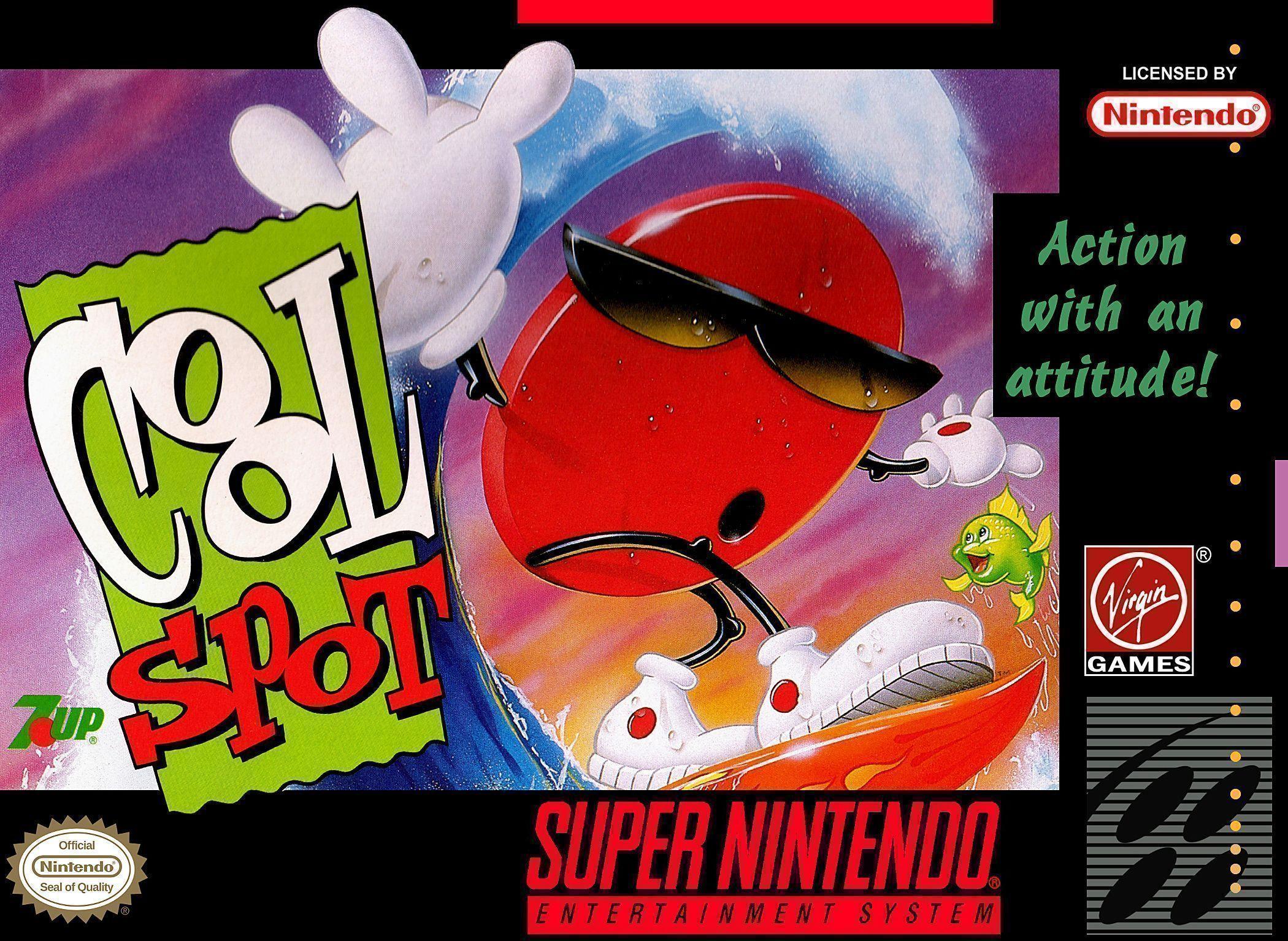 Cool Spot for Super Nintendo