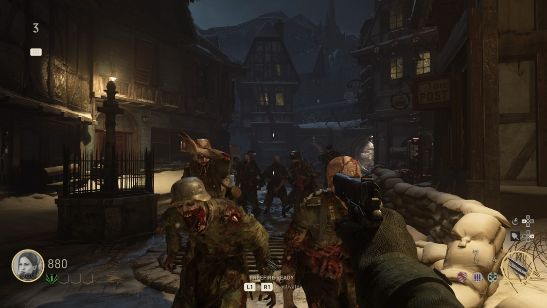 Nazi Zombies make a return after their original debut 10 years ago!