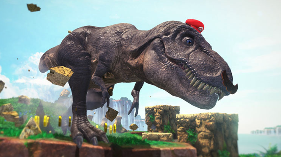 You can play as a giant T-Rex. Game of the Year.
