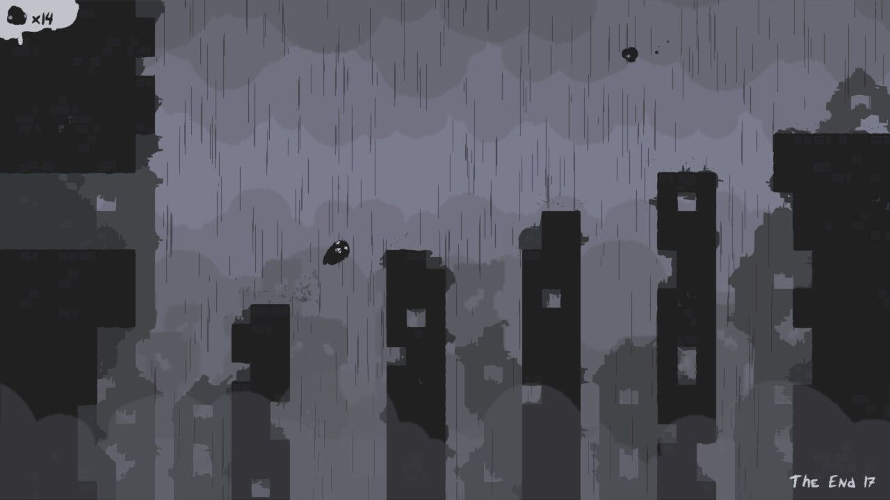 Tricky platforming is what Ash predominantly encounters after the apocalypse.
