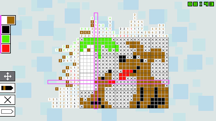 Don't let the cute puppies fool you, the puzzles get tougher as you progress.