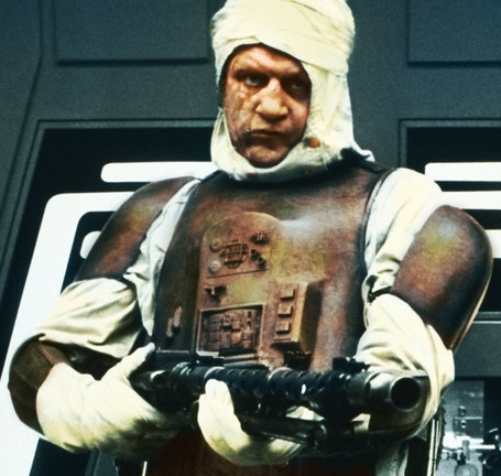 Dengar or the Hound from Game of Thrones in space