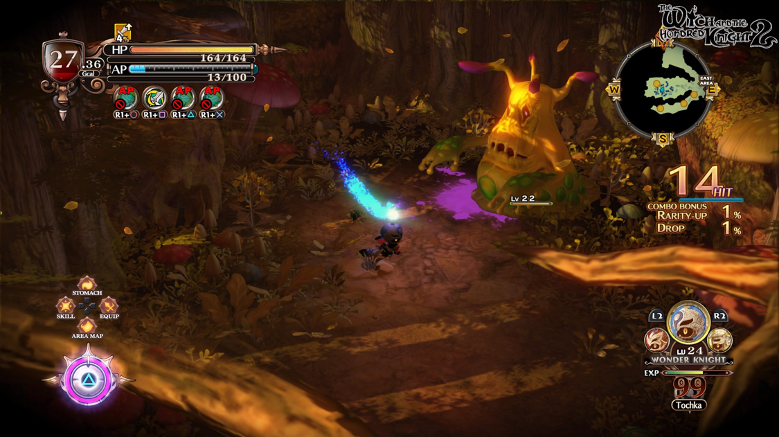 The Witch and the Hundred Knight 2 is far more polished than it's predecessor!
