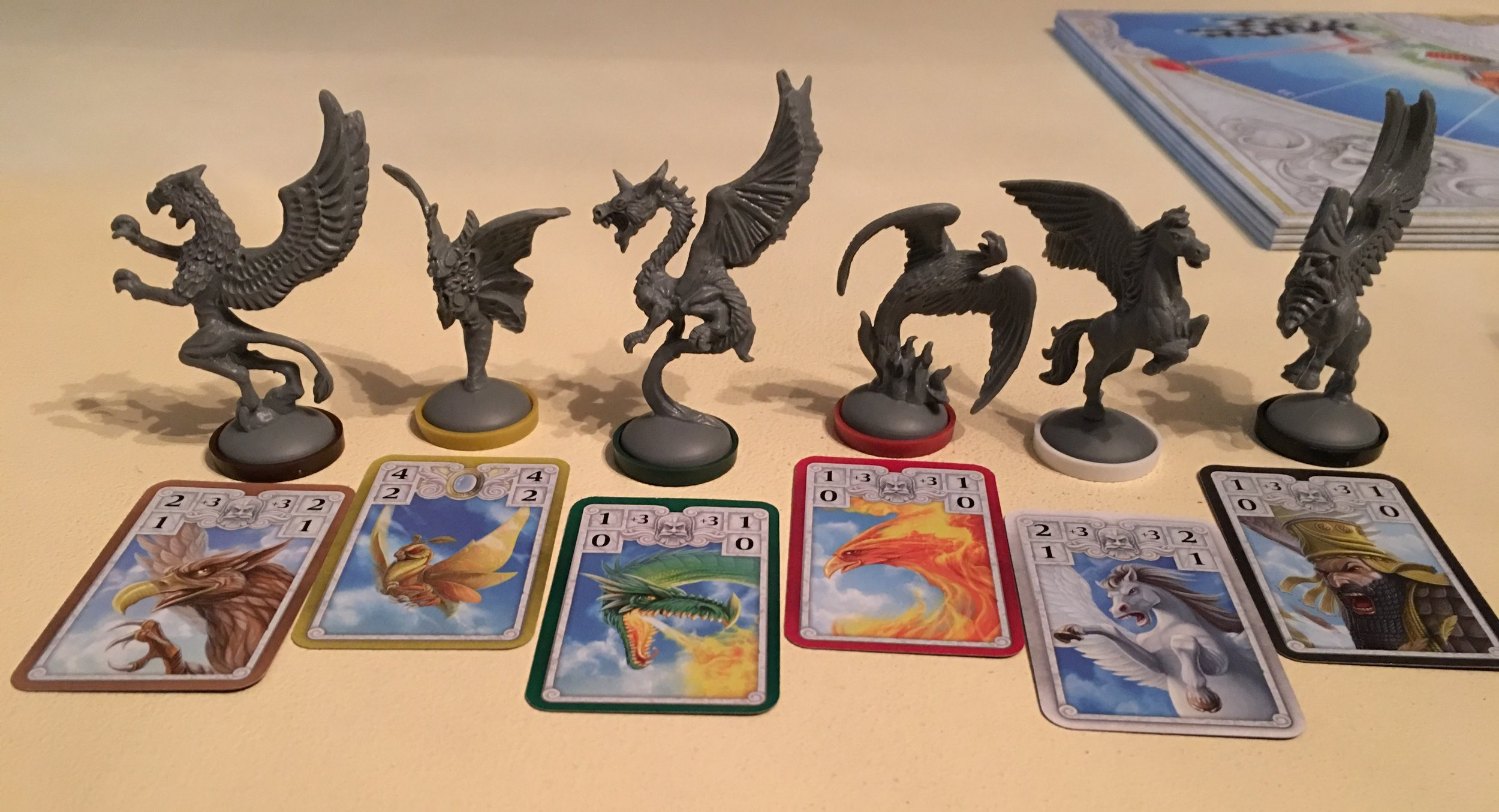 Divinity Derby Game Pieces