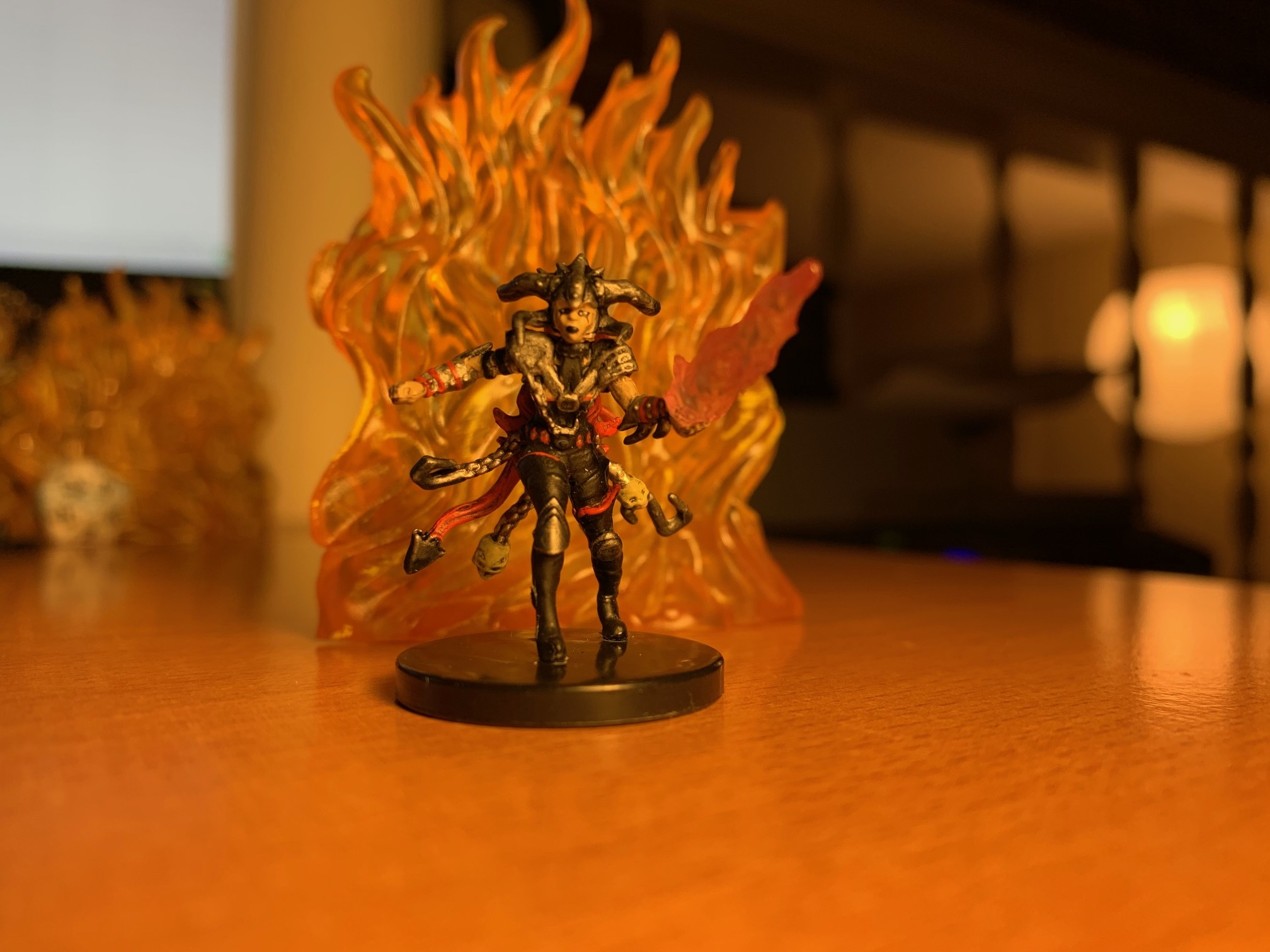 A Human Sorcerer, of the Cult of Rakdos