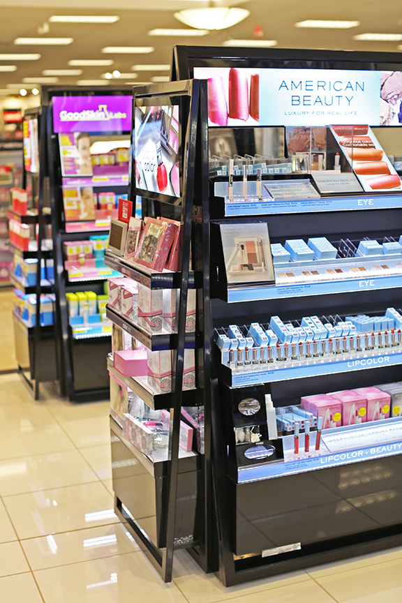 Kohl's Beauty Redesign -- End Cap