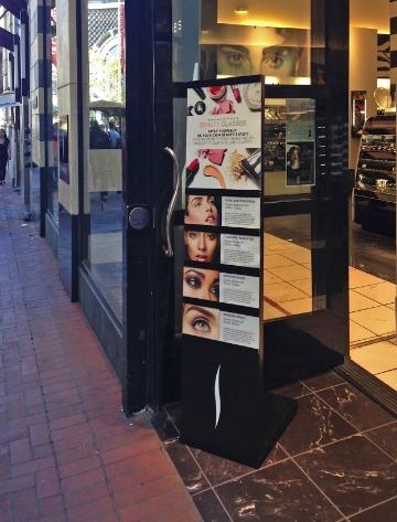 Sephora Education Sign Holder