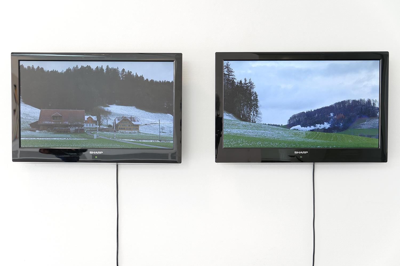 Ausstellungsansicht, Stadtmühle Willisau, 2013