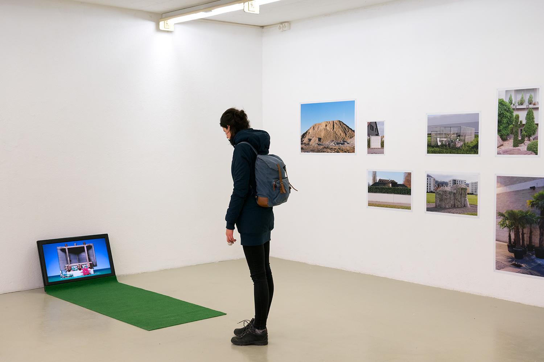 Ausstellungsansicht Dienstgebäude, Zürich, 2014
