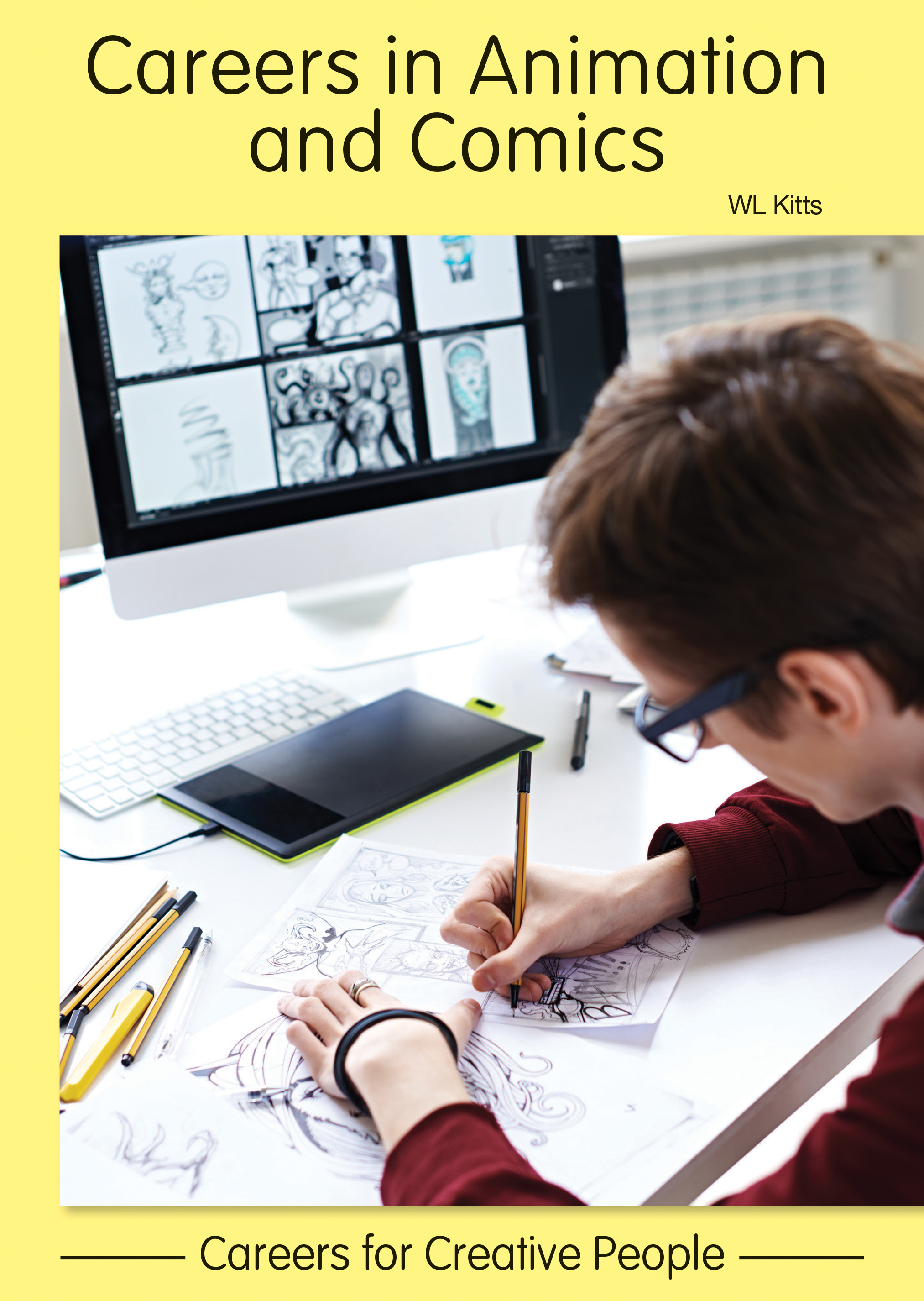 Careers in Animation and Comic Books - ReferencePoint Press (2019)