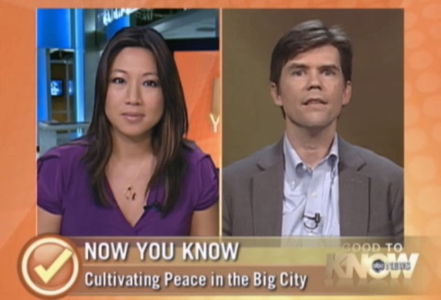 Interview about mindfulness on ABC News Now, September 22, 2010