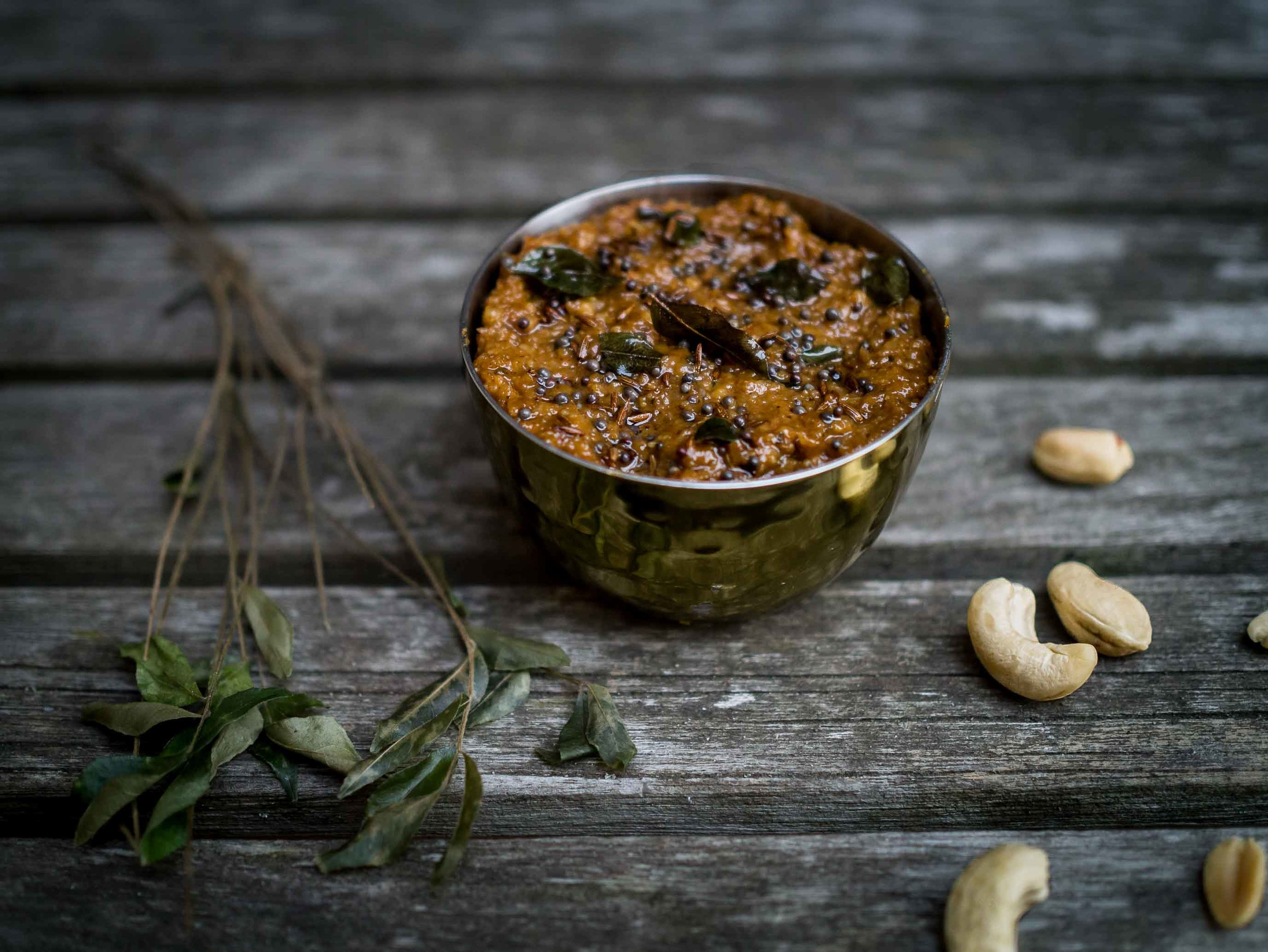Peanut and Cashew Chutney | DiscoverDelicious