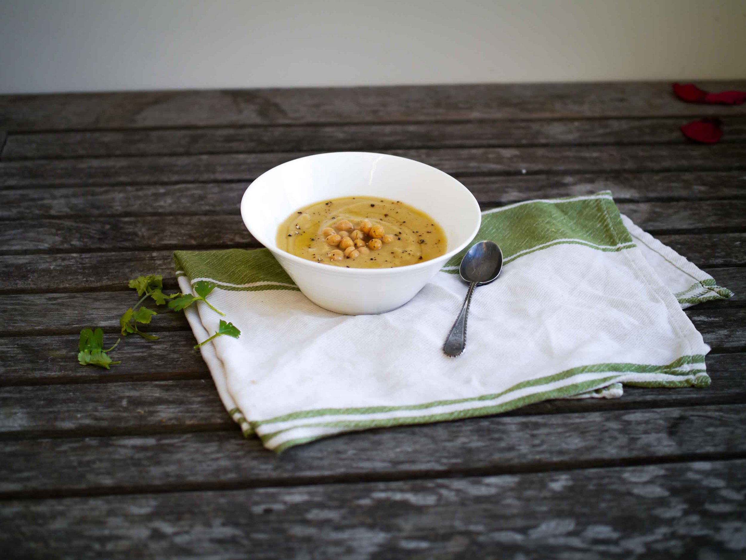 Student Chickpea Soup | DiscoverDelicious
