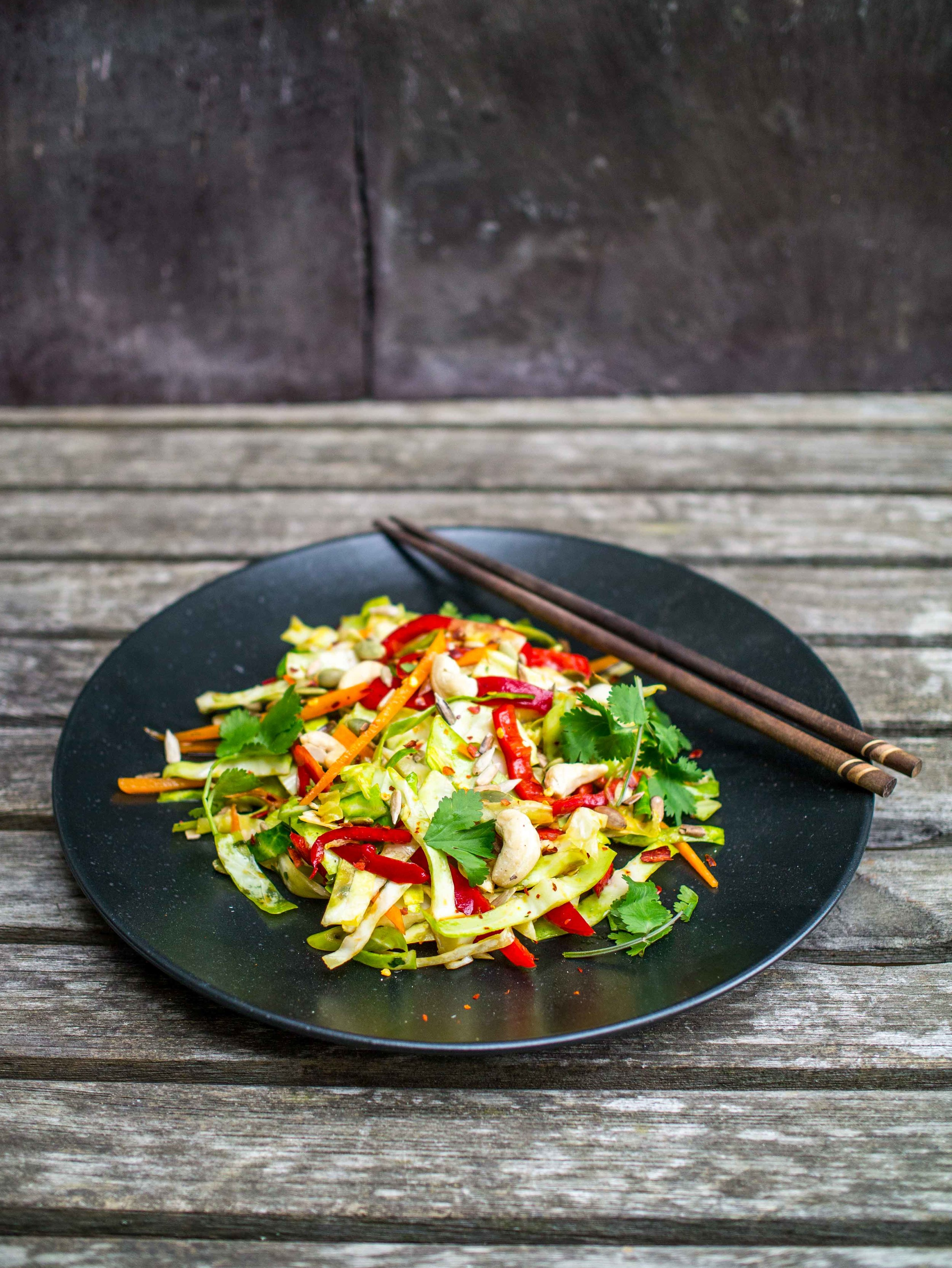 Asian Slaw Salad | DiscoverDelicious