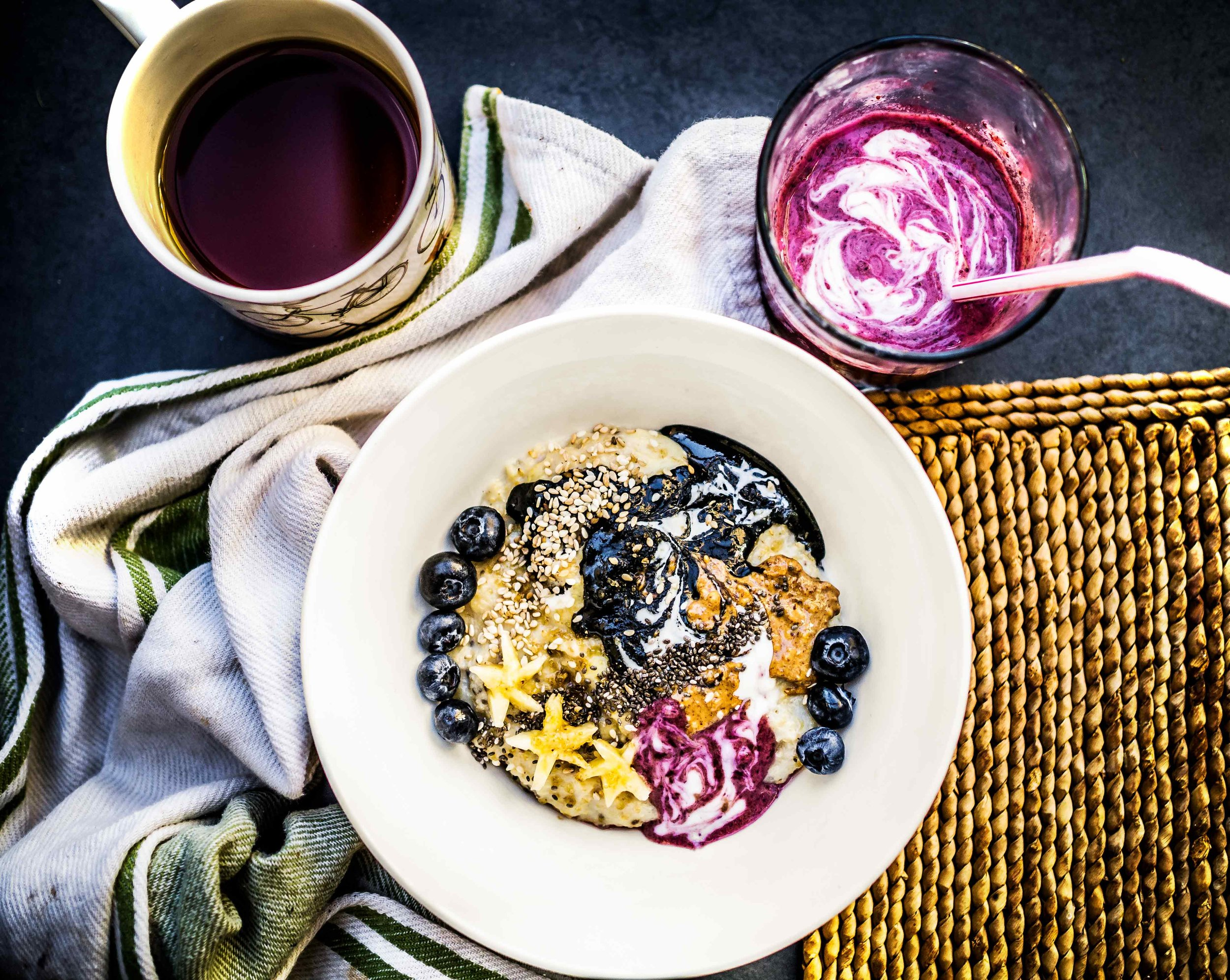 Galaxy Oats | Discover Delicious | www.discoverdelicious.org | Vegan Food Blog