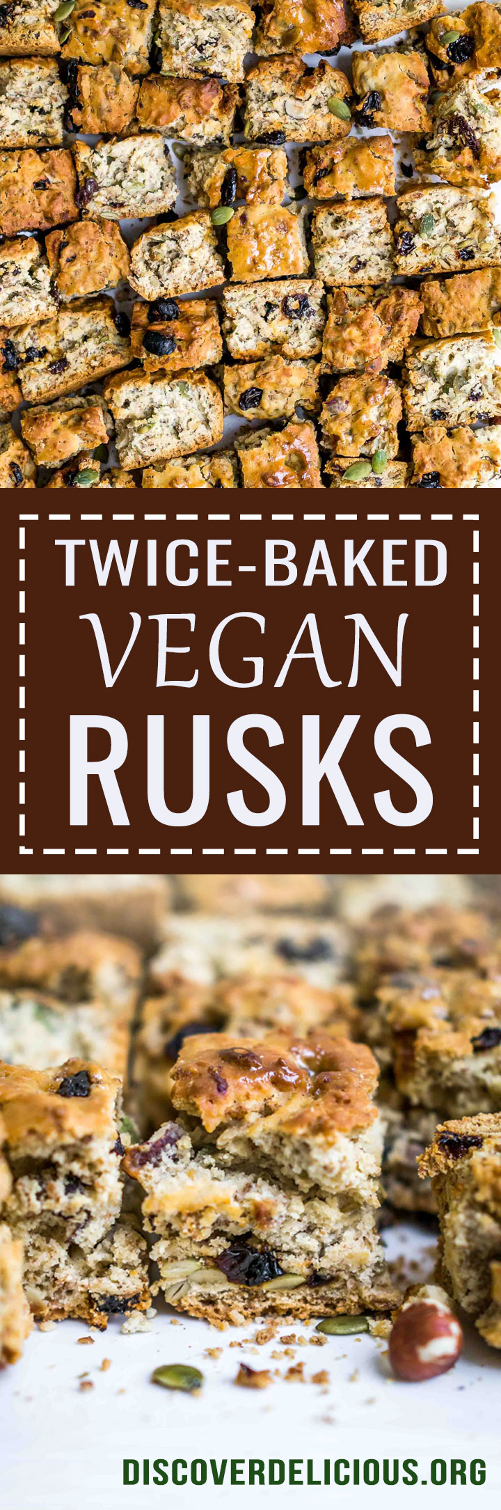 Vegan Rusks   Discover Delicious   www.discoverdelicious.org   Vegan Food Blog