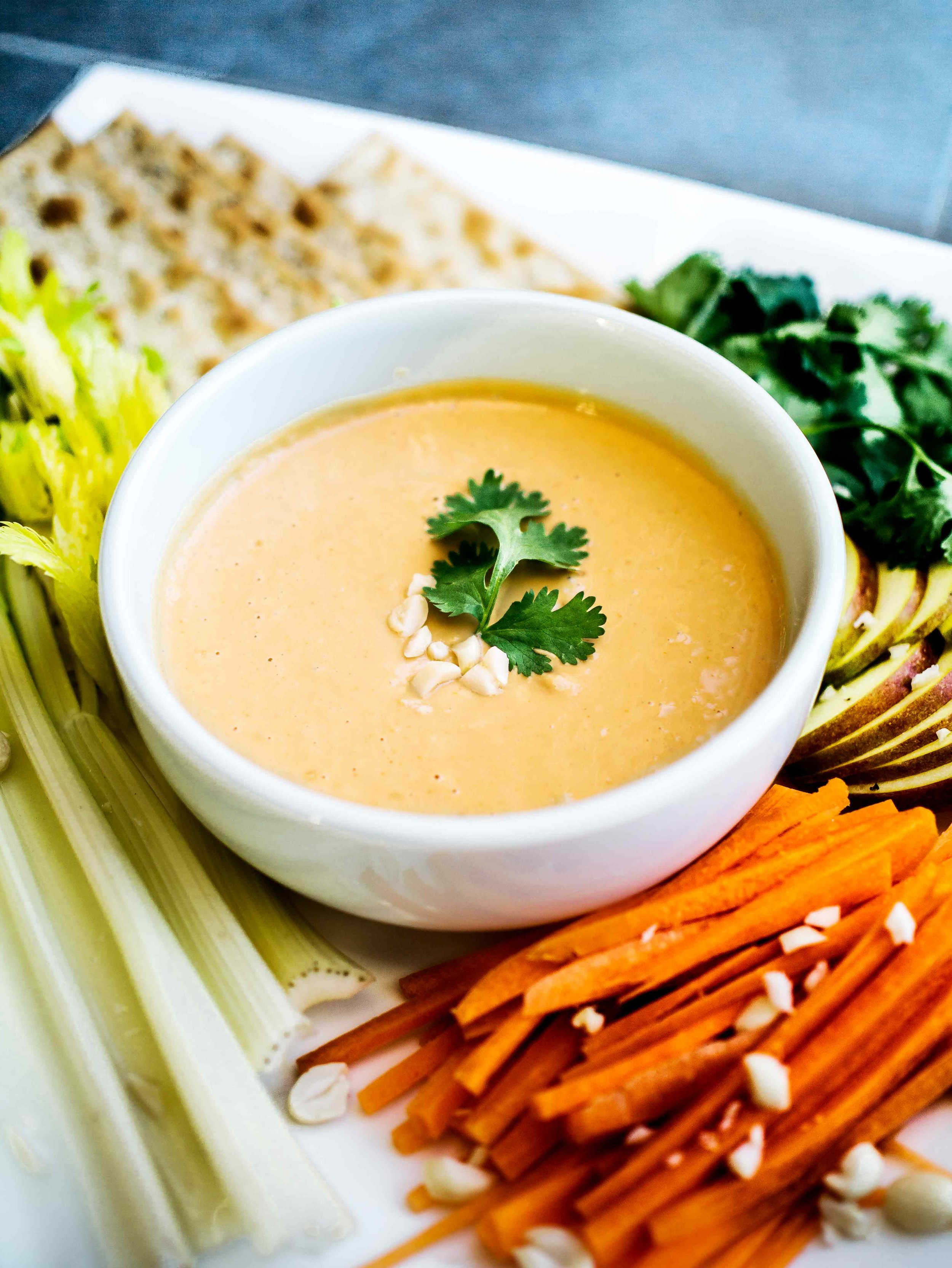 Peanut Dipping Sauce   Discover Delicious   www.discoverdelicious.org   Vegan Food Blog