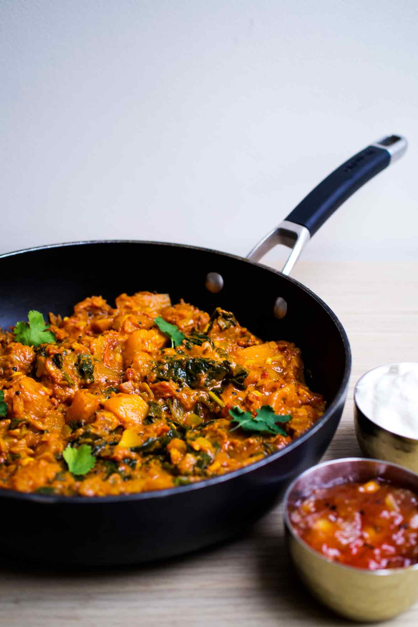 Butternut Squash Curry | Adaptable One Pot Curry | www.discoverdelicious.org | Vegan Food Blog