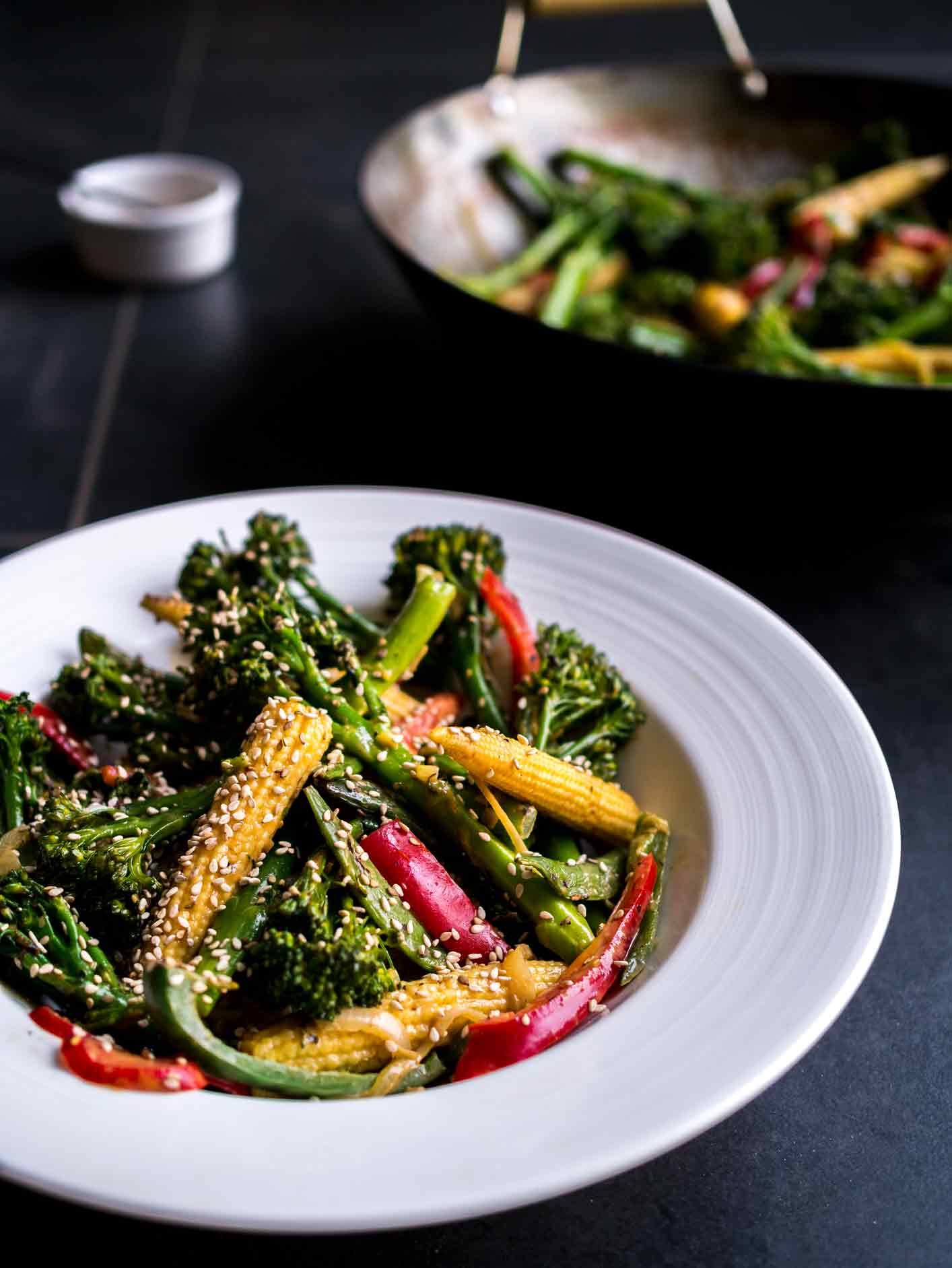 Tenderstem Stir Fry   Discover Delicious   www.discoverdelicious.org   Vegan Food Blog