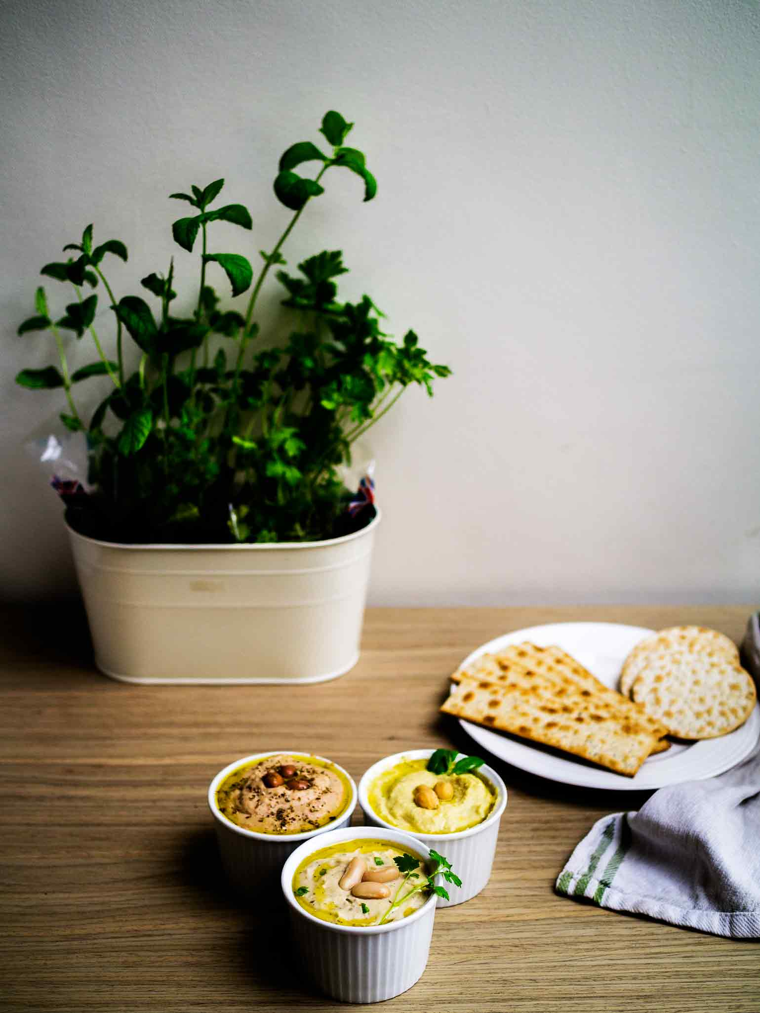 Adaptable Mediterranean Dip | www.discoverdelicious.org | Vegan Food Blog