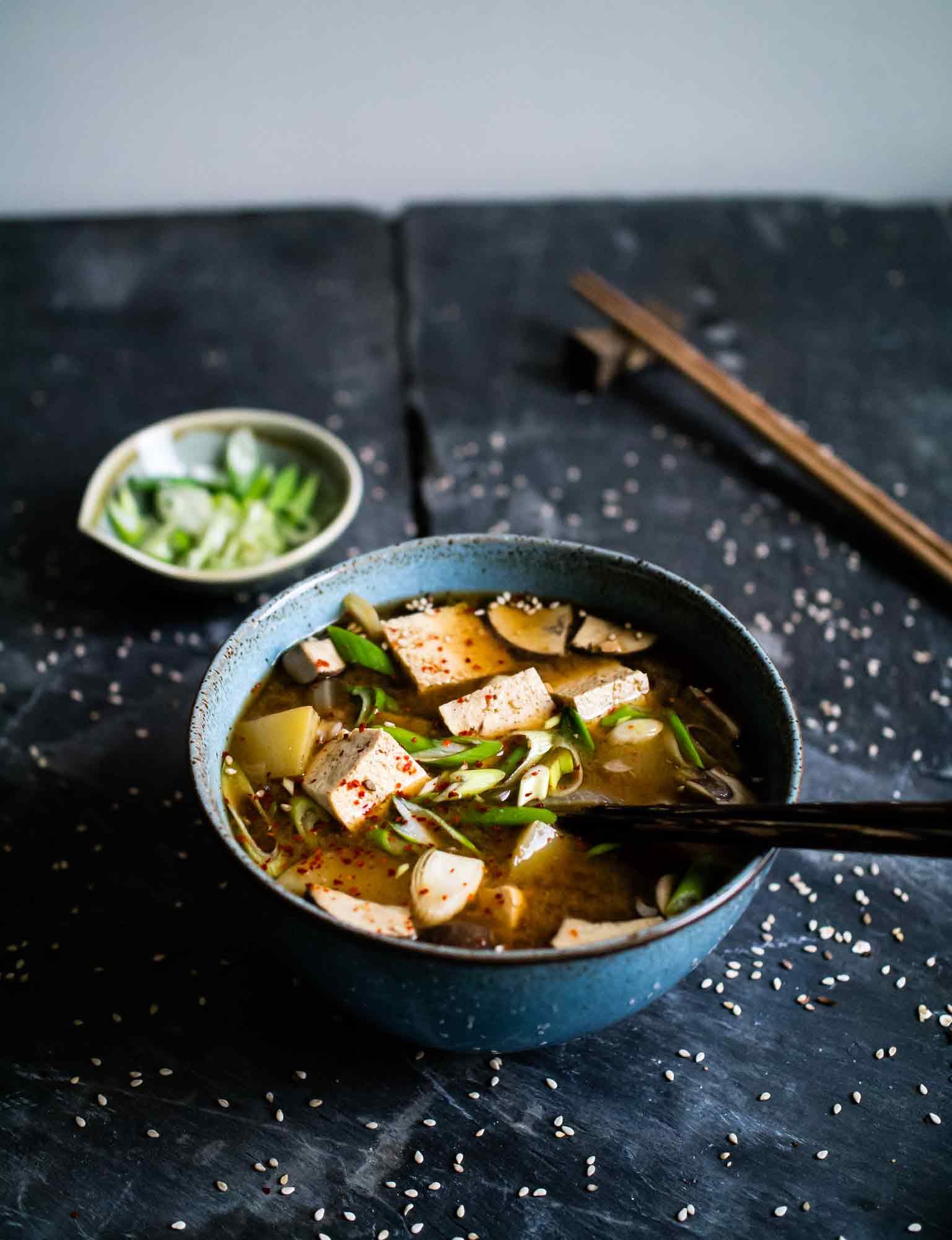 Doenjang jjigae | Vegan Korean Stew | www.discoverdelicious.org | Discover Delicious