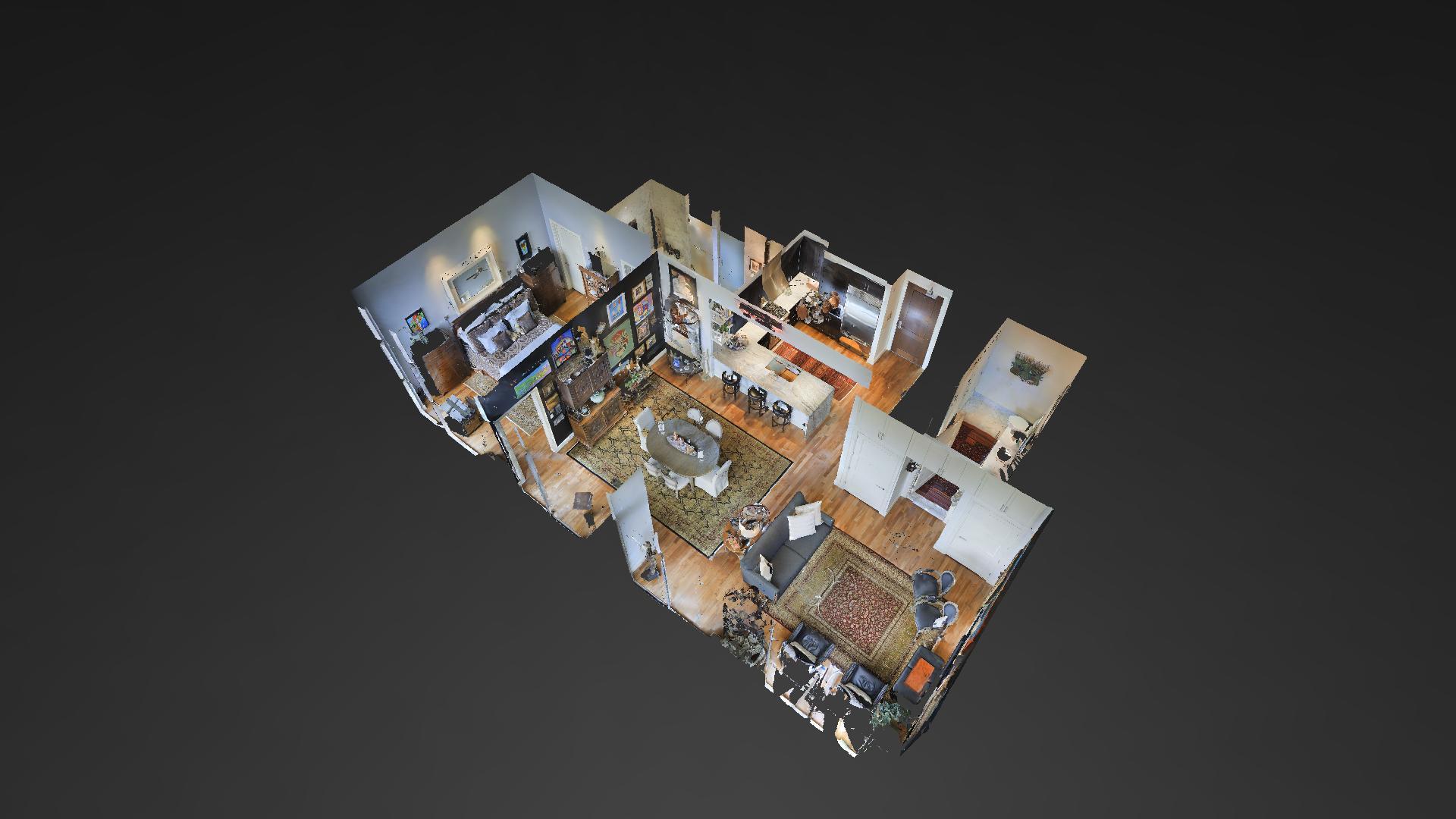 3D Model and Virtual Walkthrough