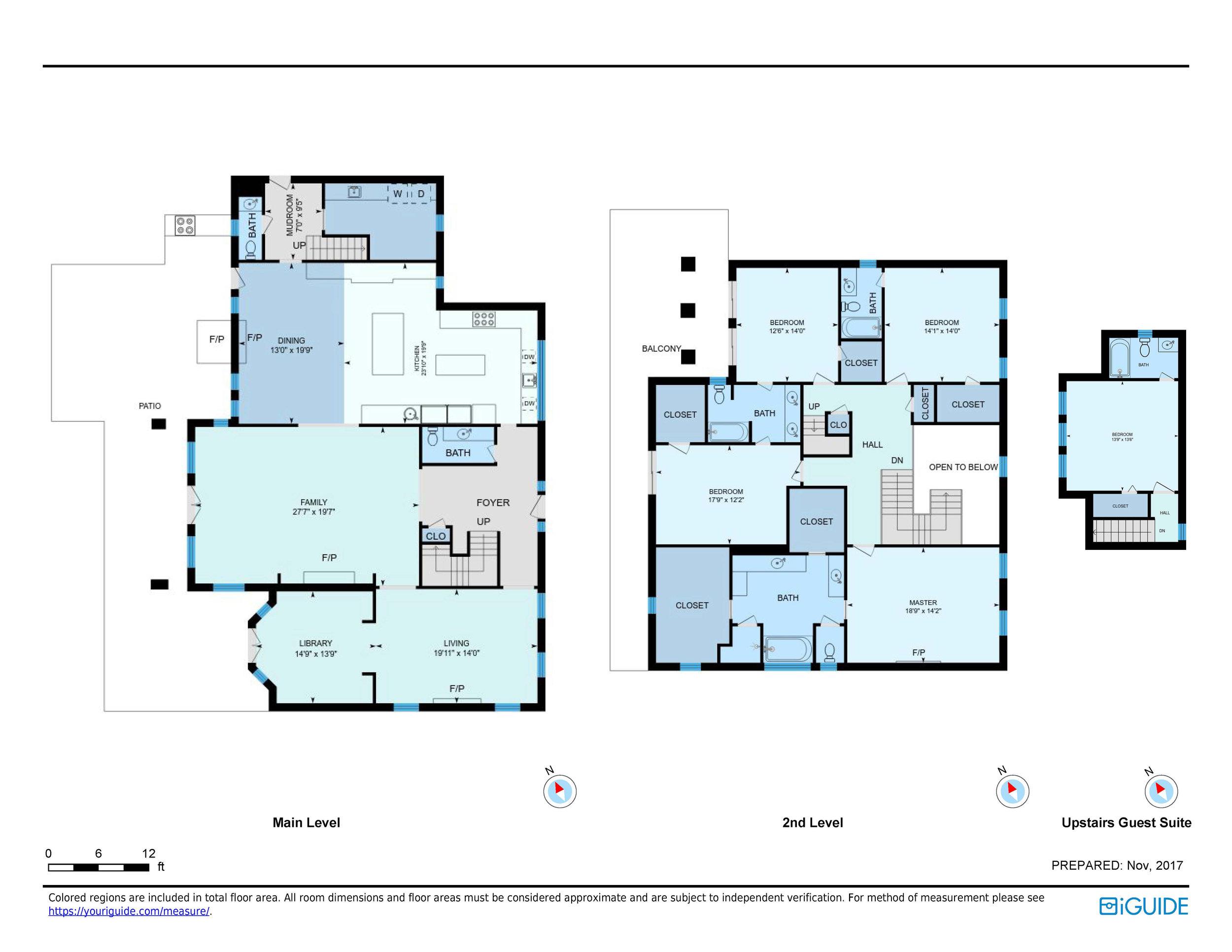 iGuide Precision Floor Plan